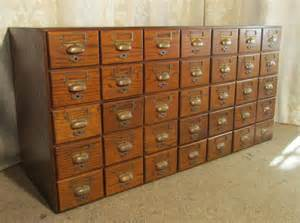 oak  drawer card index filing cabinet wine rack antiques atlas