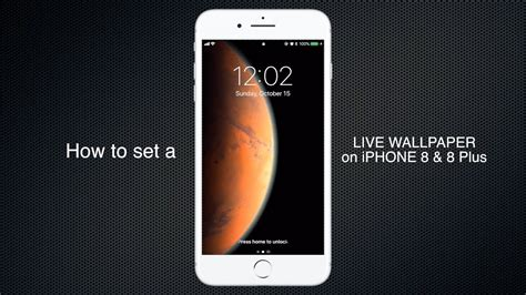 How To Set Live Wallpaper On Iphone 8, 8 Plus, 7, 7 Plus