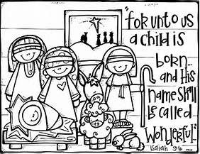 HD Wallpapers Printable Christmas Coloring Pages Nativity Scene