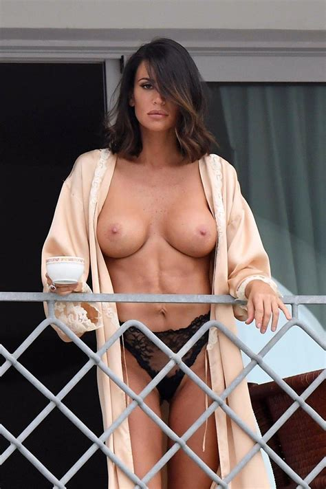 Claudia Galanti Nude Tits On Balcony Scandal Planet