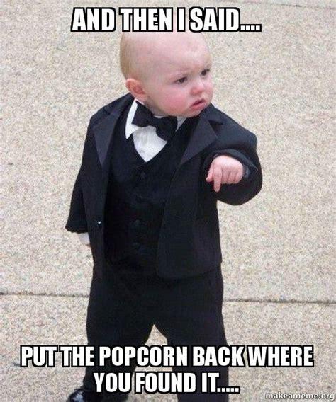Baby Godfather Meme - godfather baby meme