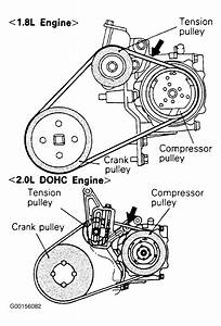 1990 Plymouth Laser Serpentine Belt Routing And Timing