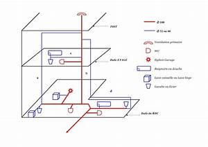 Evacuation Eaux Usees Maison Individuelle : plan d 39 vacuation et ventilation de chute page 1 ~ Dailycaller-alerts.com Idées de Décoration
