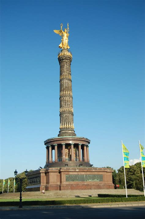 samsung siege siegessäule berlin tiergarten bild foto michael