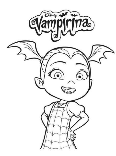 coloring pages  vampirina  kids  funcouk op kids
