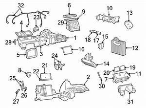 Jeep Grand Cherokee Heater Core Case  Auto Controls  Ac