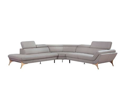 modern grey leather sofa modern grey sectional sofa vg41 leather sectionals