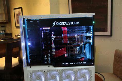 digital storm showcases  aventum  update