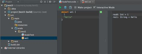 how to use my classes from scala worksheet in intellij ce with scala plugin stack overflow