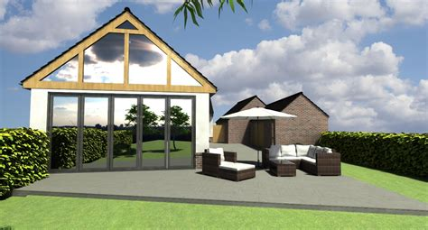 New Build Bungalow  Residential 3d Models By The Art Of