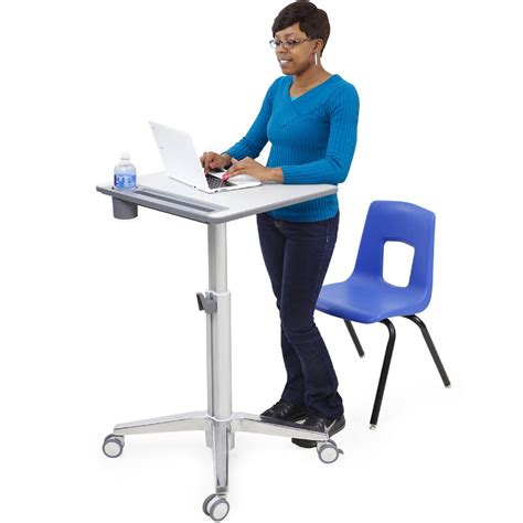 standing desks for students ergotron 24 547 003 learnfit sit stand student desk for