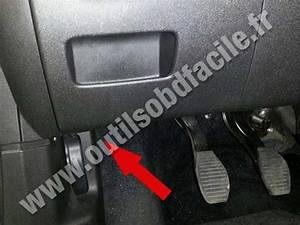Obd2 Connector Location In Opel Adam  2012 -