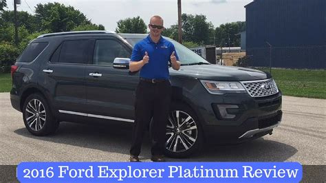 2016 Ford Explorer Platinum Review By Indiana's Ford