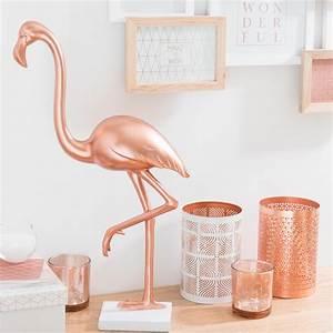 Deco Cuivre Rose : bougeoir en m tal h 15 cm origamix copper maisons du ~ Zukunftsfamilie.com Idées de Décoration