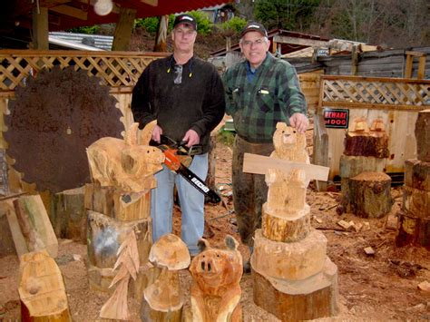 furniture ontario oregon george kenny 39 s of chainsaw carving