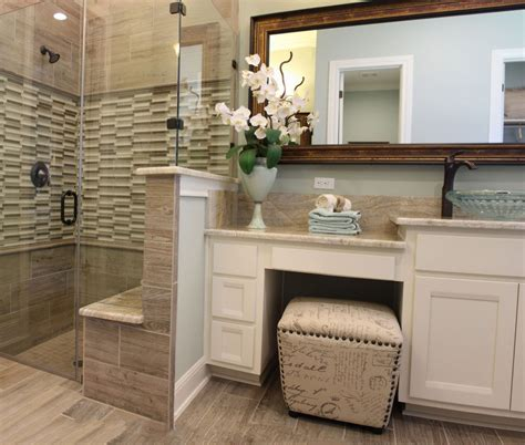 storage for small bathroom ideas master bath with white cabinets and vanity seat