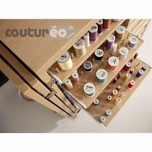 Meuble Rangement Couture : meuble de rangement fils et accessoires de couture rauschenberger coutureo ~ Farleysfitness.com Idées de Décoration