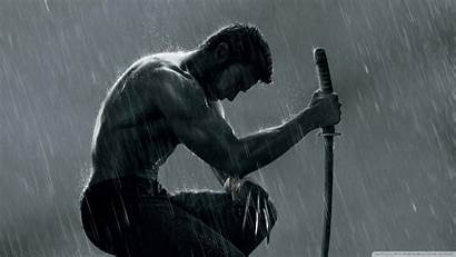 Wolverine Wallpapers Rain Marvel Hugh Jackman Movies