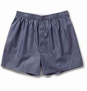 Sunspel Striped Cotton Boxer Shorts in Blue for Men | Lyst