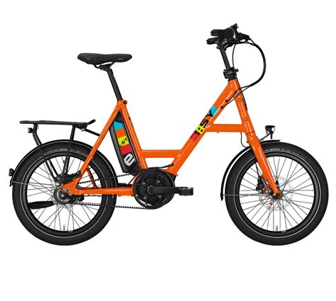isy drive  zr  bike orange trekkingraeder cityraeder