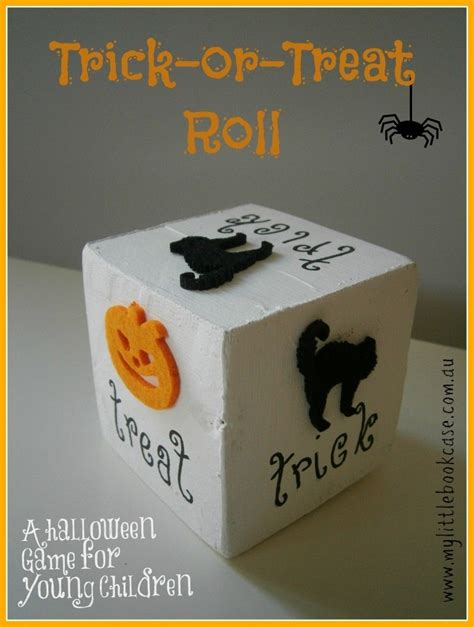 trick  treat roll game pictures   images