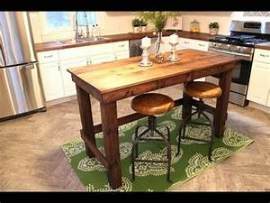 The $20 Kitchen Island - Easy DIY Project - YouTube