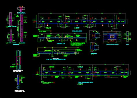 general notes  structural dwg detail  autocad