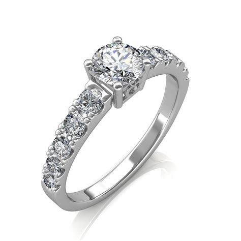 0 90 carat platinum true engagement ring at best prices in india sarvadajewels