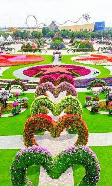 jardin de milagro de dubai eau de dubai bellos jardines