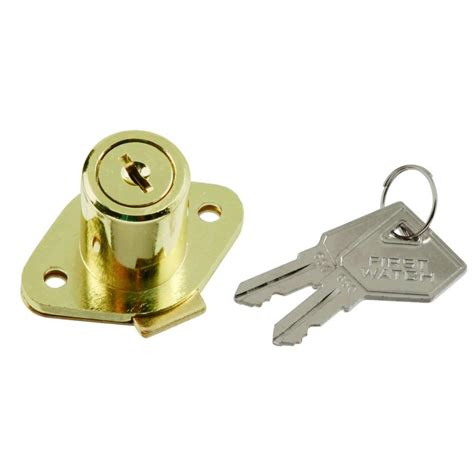 cabinet locks home depot first watch security polished brass cabinet and drawer
