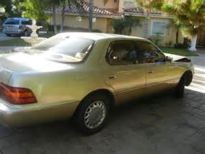 1992 lexus ls400 1992 lexus ls400 for sale photos technical