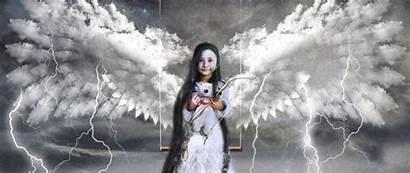 Angel Child Surrealism Cupid Swing 1080p Dual