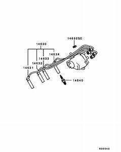 Spark Plug Cable  U0026 Coil For 1988