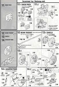 Mg Shenlong Gundam English Manual  U0026 Color Guide