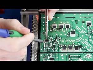 Samsung Tv Repair - Bn96-16510a    Lj92-01796a X Main Board Component Repair Kit - No Power