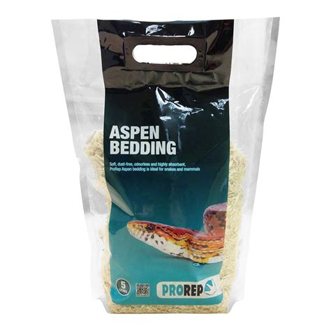 prorep reptile aspen bedding snakes birds mice dust
