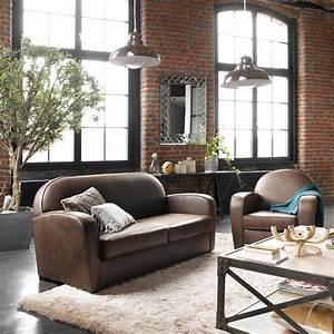 Style Industriel Salon : conseils d co pour un int rieur au style industriel madame ~ Teatrodelosmanantiales.com Idées de Décoration