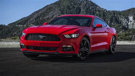 ford mustang   powerful ecoboost engine