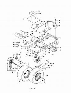 Husqvarna Riding Mower Parts Diagram