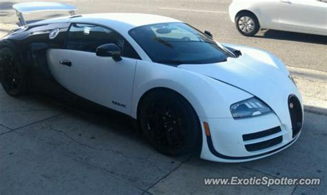 Drop Top Bugatti by Bugatti Veyron Spotted In Los Angeles California On 10 03