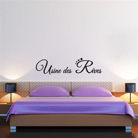 sticker citation chambre sticker citation usine des rêves stickers citations