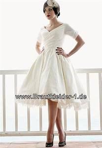Brautkleid Mit Farbe : rockabilly brautkleid mit rmel ~ Frokenaadalensverden.com Haus und Dekorationen