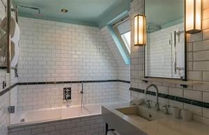 Carreau Metro Blanc : l 39 option du carrelage blanc dans la salle de bain styles de bain ~ Preciouscoupons.com Idées de Décoration