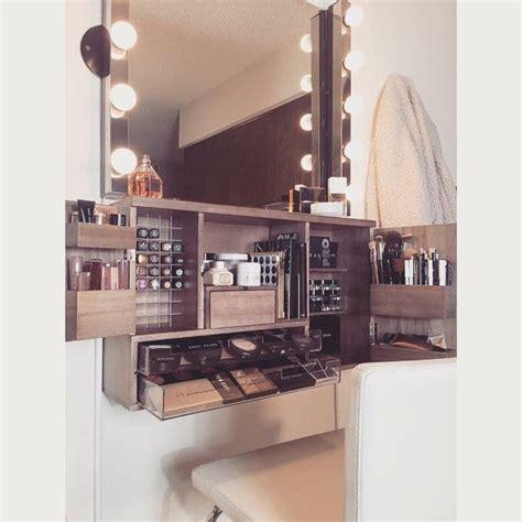Vanity Makeup Organizer - top 25 best modern makeup vanity ideas on