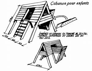 Plan Cabane En Bois Pdf : les 25 meilleures id es de la cat gorie plan cabane enfant ~ Melissatoandfro.com Idées de Décoration