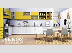 Lennox Kitchen and Dining by Peacemaker IC Teh Sims