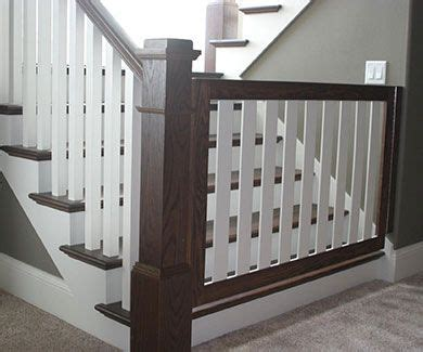 Wooden Baby Gates For Stairs With Banisters by Gatekeepers Baby Gates Pet Gates Safety Gates Child