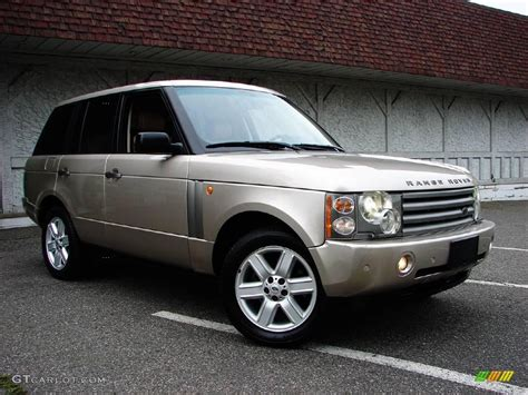 black and gold range rover 2003 white gold metallic land rover range rover hse