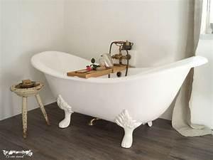 Frei Stehende Badewanne : freistehende badewanne edinburgh aus guss wei 182x76x80 nostalgie duo ~ Udekor.club Haus und Dekorationen