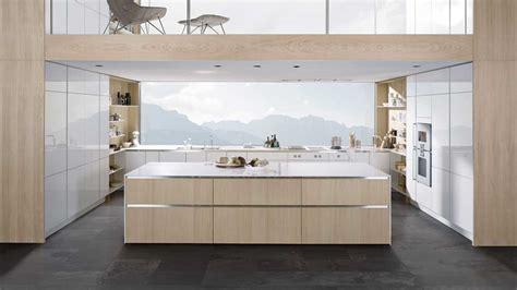 cuisine blanche et bois clair cuisine blanche et bois de style scandinave la tendance